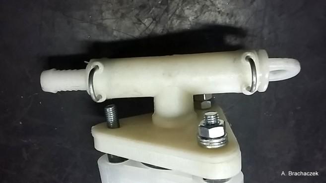 mieszadło hydrauliczne białe