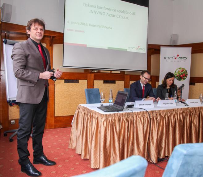 przemówienie innvigo na konferencji w czechach