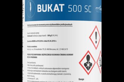 fungicydy bukat 500 sc