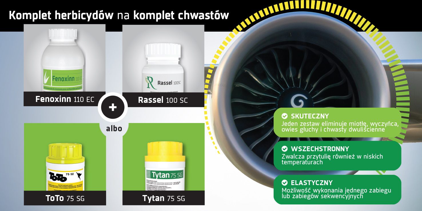 Herbicydy Fenoxinn Toto Tytan Rassel
