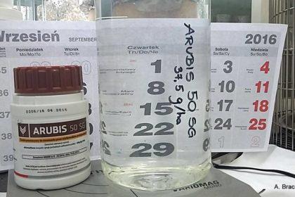 herbicyd arubis 50 sg próbka chorosurfuron
