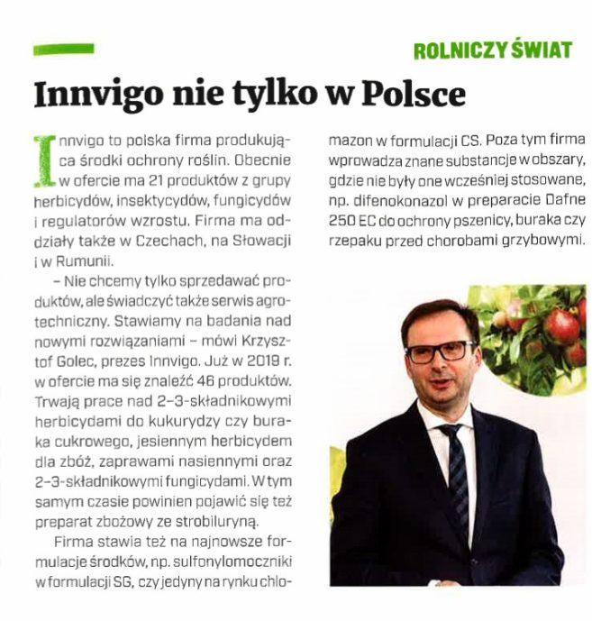 innvigo nie tylko w polsce - artykuł