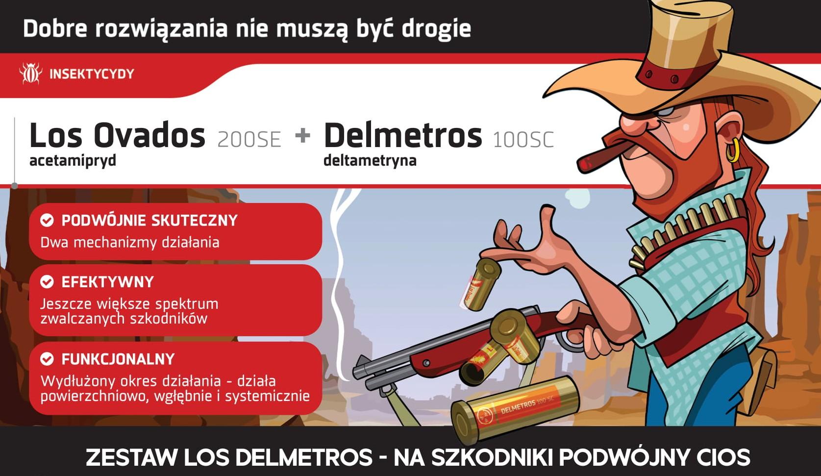 Insektycydy Los Ovados i Delmetros