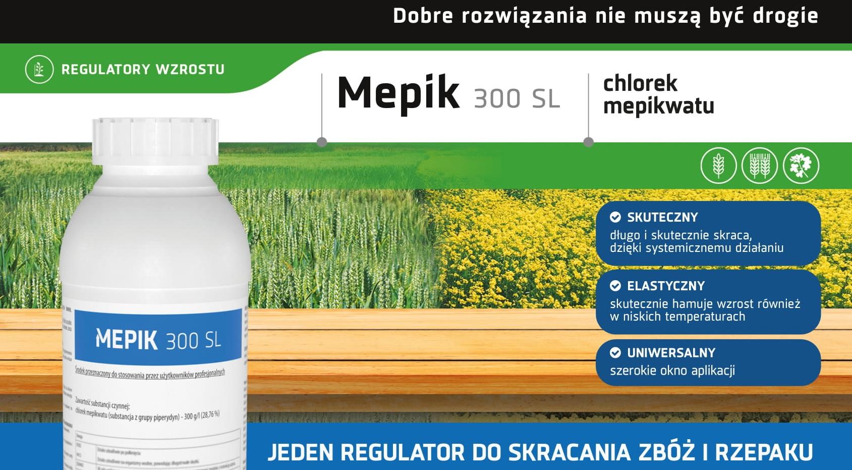 Mepik - regulator wzrostu