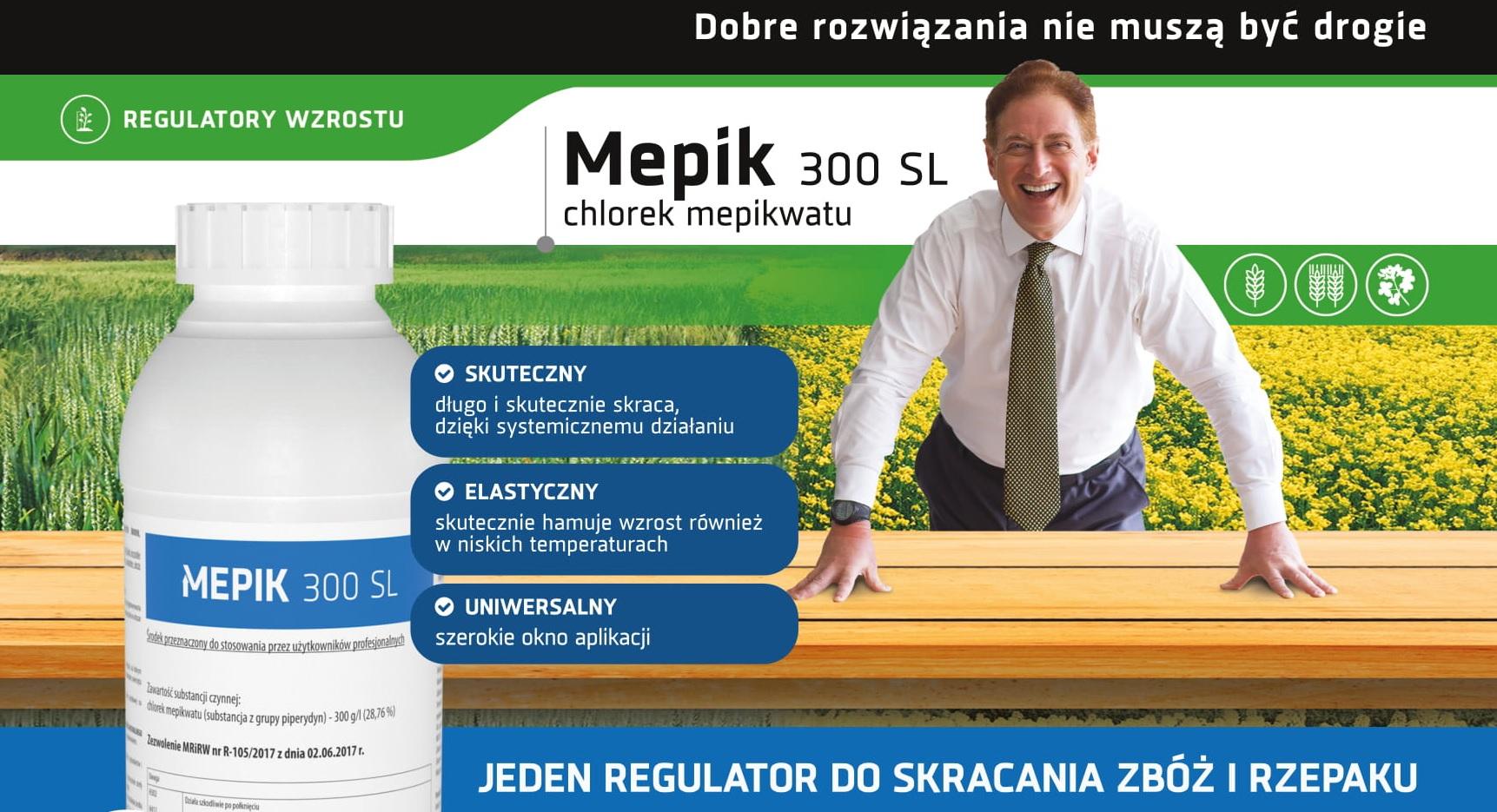 Mepik regulator wzrostu
