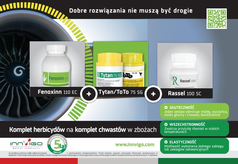 Zestaw FTR - herbicydy na chwasty w zbożach