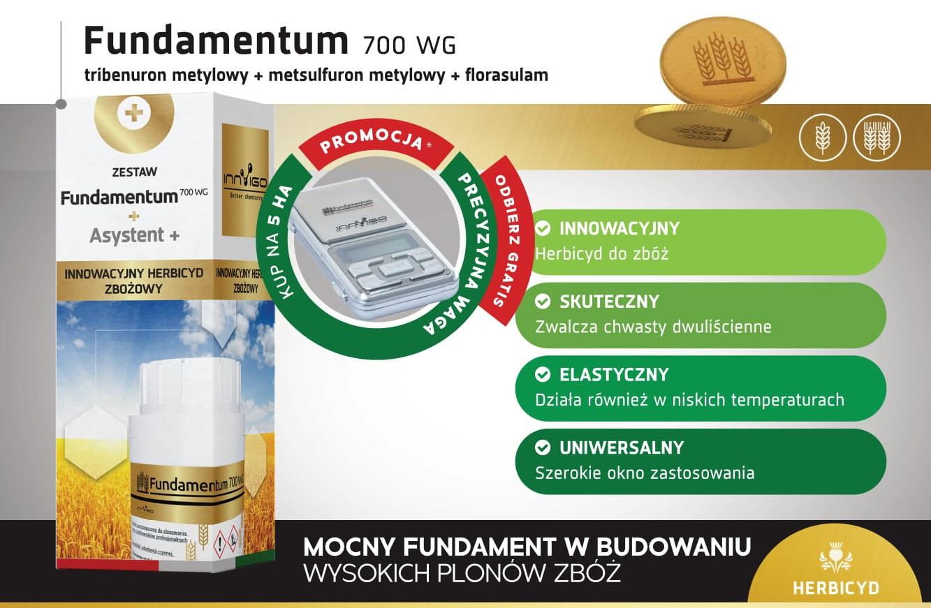 Herbicyd trójskładnikowy Fundamentum