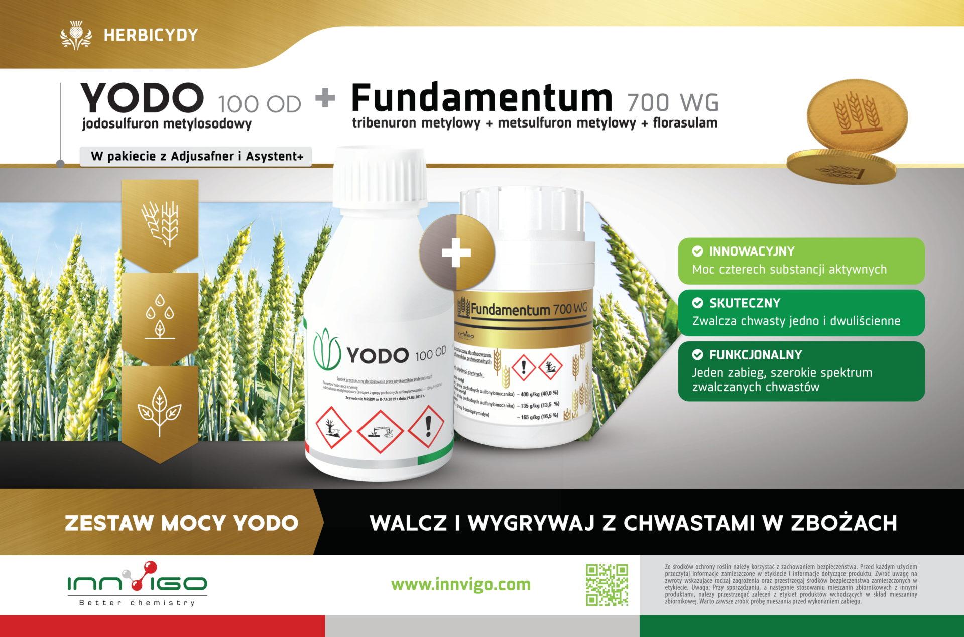 Zestaw Mocy Yodo + Fundamentum Herbicydy