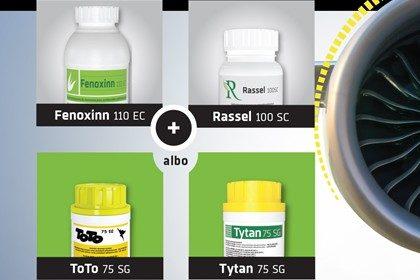 Zestaw herbicydów na chwasty w promocji FTR