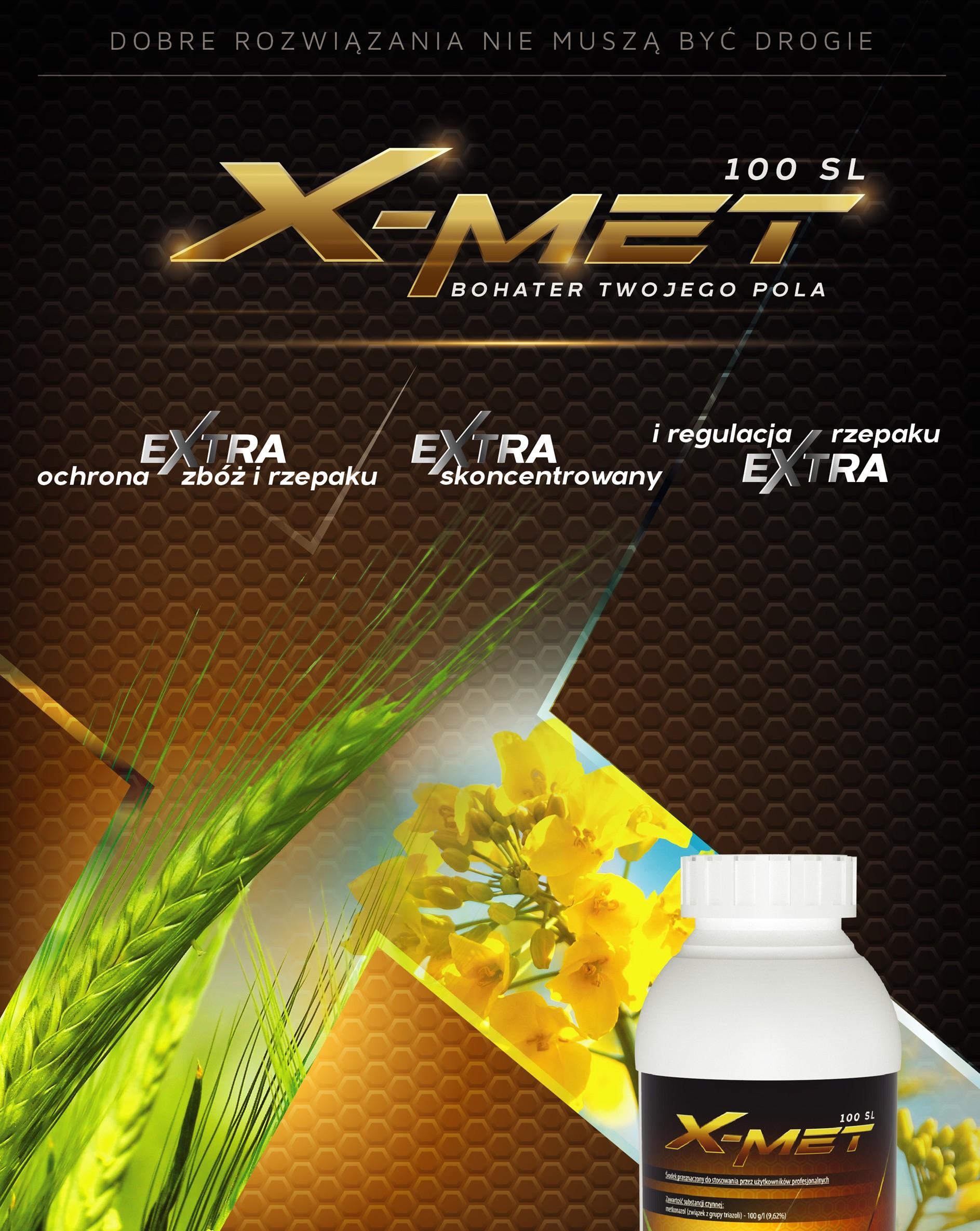Fungicyd X-Met - zwalczanie chorób, grzybów