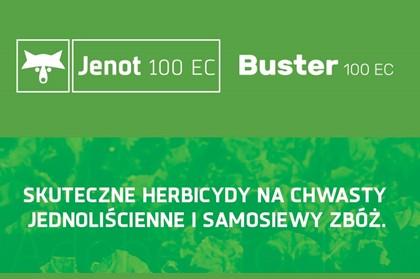 Jenot Buster Promocja