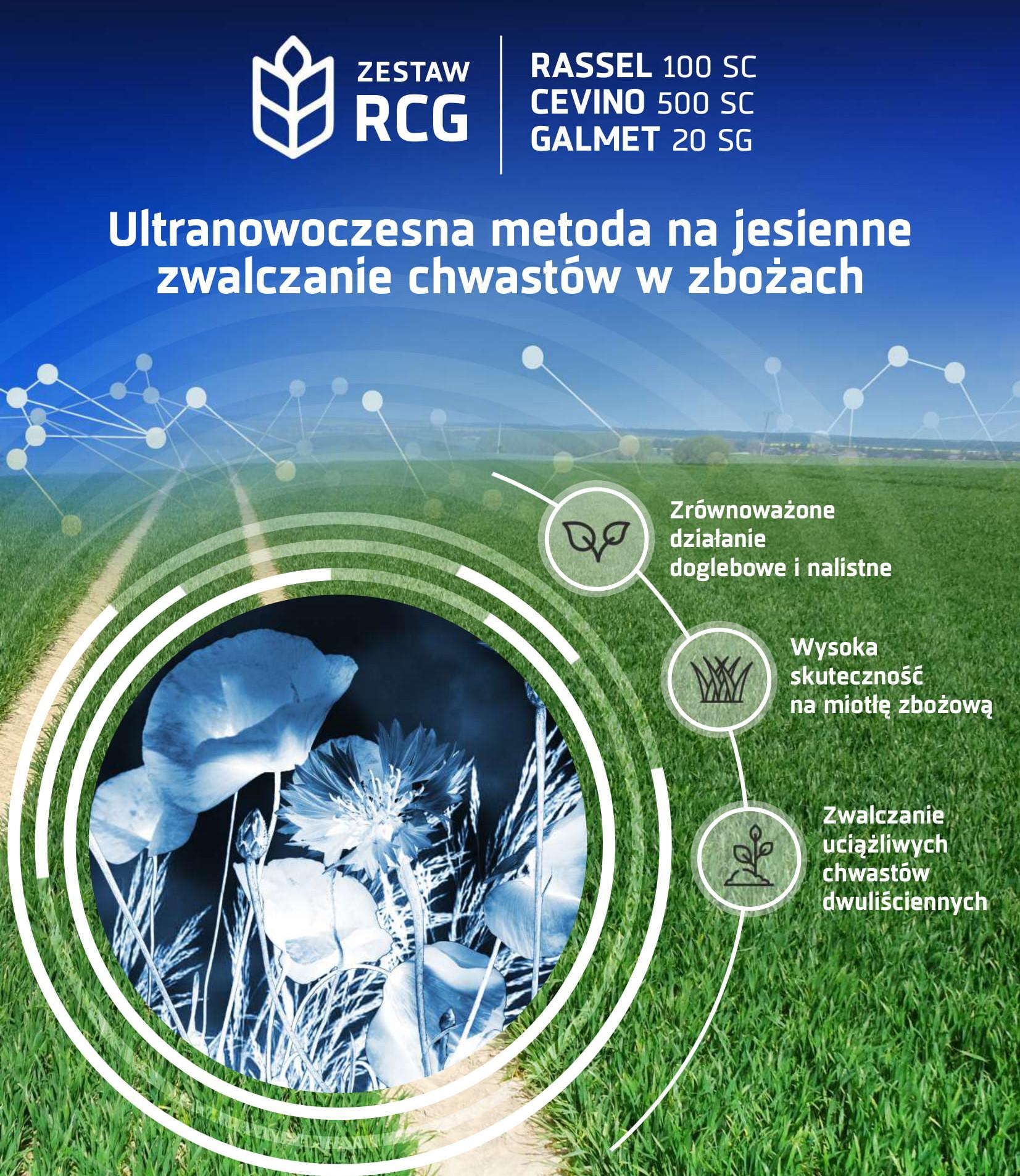 Zwalczanie chwastów jesienią w zbożach RCG